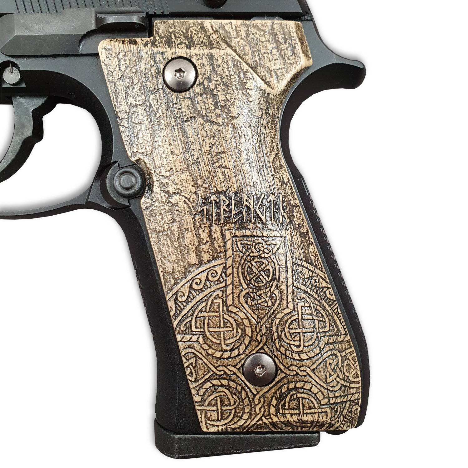 Strength And Honor - Beretta 92, 92A1, 92G, 92FS, 96, 96A1, 98FS, 98A1, M9, M9A1 Grips