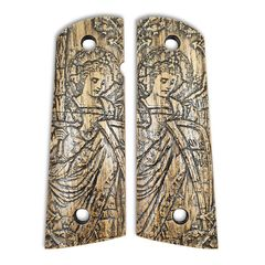 Archangel Michael - 1911 Full Size Magwell Grips