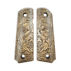 Celtic Heart - Browning 1911 .22 & .380 GripsCeltic Heart - Browning 1911 .22 & .380 Grips