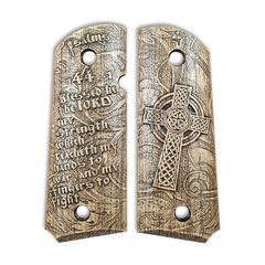 Psalms 144:1 - 1911 Compact Size Officers Grips