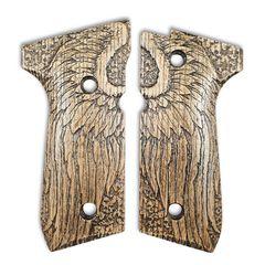 Angel Wings - Beretta 92, 92A1, 92G, 92FS, 96, 96A1, 98FS, 98A1, M9, M9A1 Grips