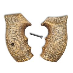 Celtic Gates (Oil) - Smith & Wesson K/L Frame Round Butt Grips