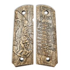 Psalms 23:4 And Archangel Michael - 1911 Full Size Government Grips