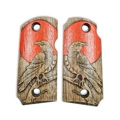 Red Raven - Kimber Micro 9 Grips