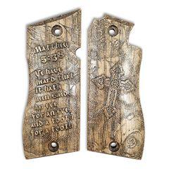 Matthew 5:38 - Star Model BM 9 Grips