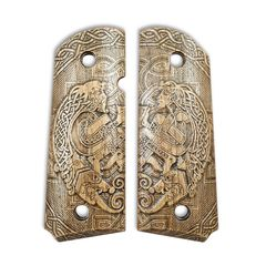 Celtic Heart - 1911 Compact Size Officers Grips