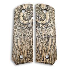 Angel Wings - 1911 Full Size Bobtail Grips