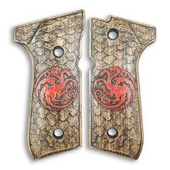 Dragons - Beretta 92, 92A1, 92G, 92FS, 96, 96A1, 98FS, 98A1, M9, M9A1 Grips